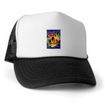 Hawaiian trucker's hat