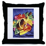 Hawaiian throw pillow