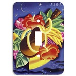 Hawaiian switch plate