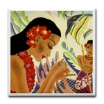 Hawaiian ceramic tile
