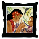 Hawaiian throw pillows