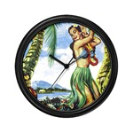 Hawaiian clock