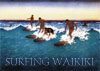 surfers in Waikiki