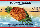 Hawaiian fruits label