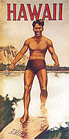Duke Kahanamoku brochure cover