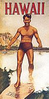 Duke Kahanamoku brochure cover