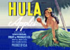 hula apples crate sticker