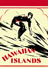 Hawaiian Islands book cover with da Duke