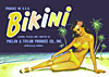 bikini fruit crate label