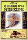 Mid-Pacific Magazine cover with surfer