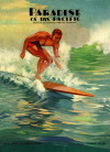 Duke Kahanamoku surf art