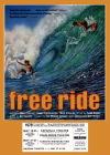 Free ride poster print