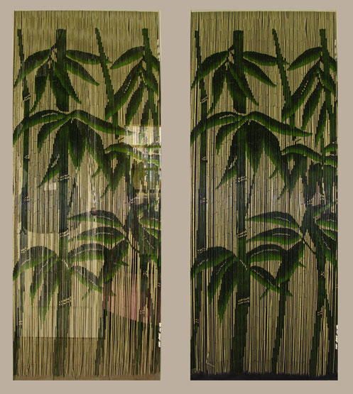 ... to the natural materials used variances in length and thickness of the bamboo beads paints used or lengths at which these bamboo door beads are cut ... & This year\u0027s most popular Hawaiian gift: Quality Bamboo Bead Curtains ...